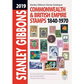 Gibbons Commonwealth & British Empire Stamps 1840-1970 2019 edition