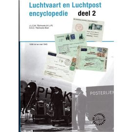 Vliegende Hollander Luchtvaart en Luchtpost encyclopedie Band 2 1936 tot en met 1945