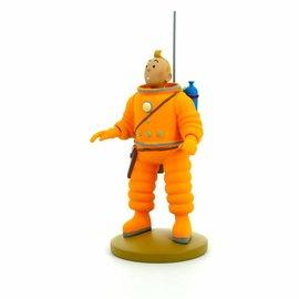 moulinsart Tintin on the moon statue - Tintin