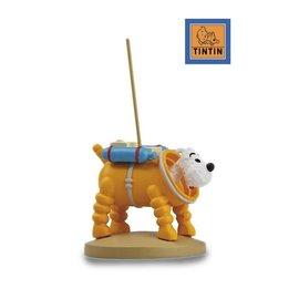 moulinsart Tintin auf dem Mond Statue - Struppi