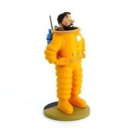 moulinsart Tintin on the moon statue - Haddock