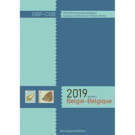 OCB - COB Officiële Belgische Postzegelcatalogus 2019