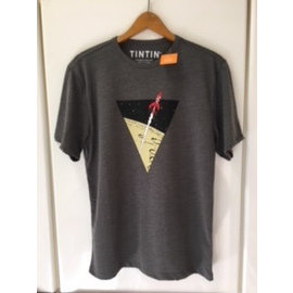 moulinsart Kuifje shirt Raket naar de maan - voor 2-jarigen
