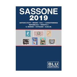 Sassone Blu 2019 Antichi stati · Regno · R.S.I. · Luogotenenza · Repubblica · Trieste · S. Marino · Vaticano · S.M.O.M.