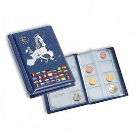Leuchtturm Route muntenalbum zakformaat 12 sets euromunten