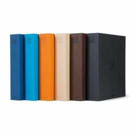 Leuchtturm ring binder Optima Pur orange