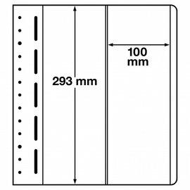 Leuchtturm blank pages LB 2 vertical - set of 10