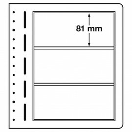 Leuchtturm blanco bladen LB 3 - per stuk
