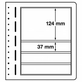 Leuchtturm blanco bladen LB 4 Mix - per stuk