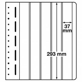 Leuchtturm blank pages LB 5 vertical - set of 10