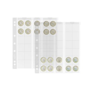 Leuchtturm muntbladen Numis 25 - 5 stuks
