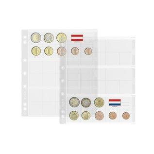 Leuchtturm muntbladen Numis EURO - 5 stuks