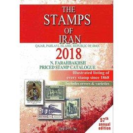 Farabakhsh The Stamps of Iran 2018 Qajar, Pahlavi, Islamic Republic of Iran