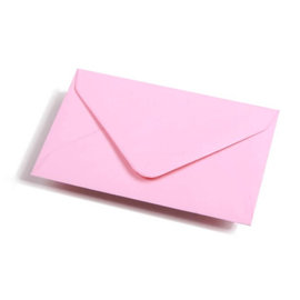 Geronimo pink envelope C6