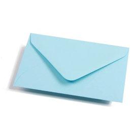 Geronimo lichtblauwe envelop C6