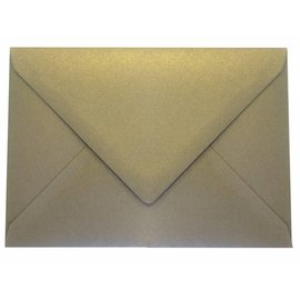 Geronimo gold coloured envelope C6