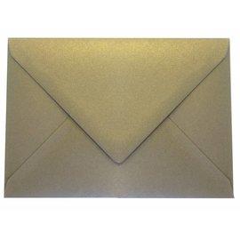Geronimo goudkleurige envelop C6