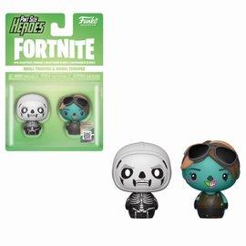 Funko Pint Size Heroes: Fortnite - Skull Trooper and Ghoul Trooper