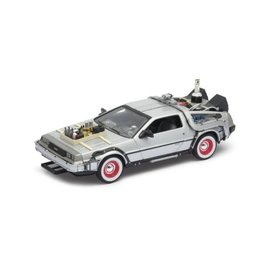 Welly Back to the Future III DeLorean Time Machine