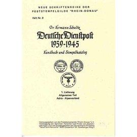 Poststempelgilde Duitse Dienstpost 1939-1945 8 delen
