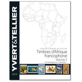 Yvert & Tellier Timbres d'Afrique francophone Volume 2