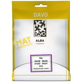 Davo stamp mounts Alba 4 x set of 50 Dutch sizes