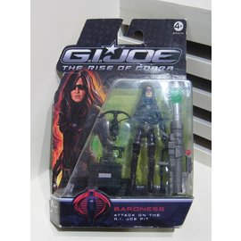 G.I.Joe Baroness The Rise of the Cobra figuur