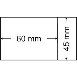 Lindner Pergamijnzakjes 45 x 60 mm 500 stuks