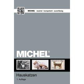 Michel Hauskatzen - Ganze Welt - Cats on Stamps