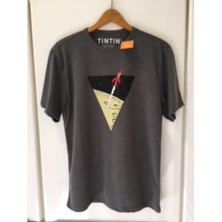 moulinsart Tintin shirt Rocket to the moon - XL