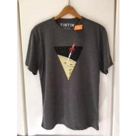 moulinsart Kuifje shirt Raket naar de maan - voor 10-jarigen