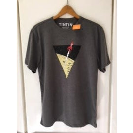 moulinsart Tintin shirt Rocket to the moon - for 10-year-olds