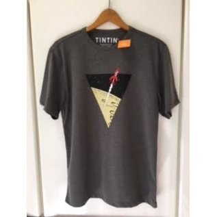 moulinsart Tintin shirt Rocket to the moon - for 12-year-olds