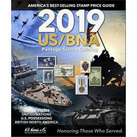 Harris 2019 US/BNA Postage Stamp Catalog