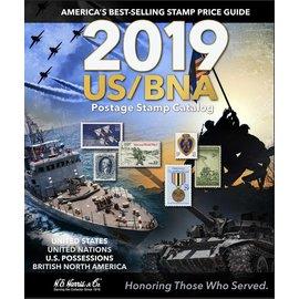 Harris 2019 US/BNA Postage Stamp Catalog