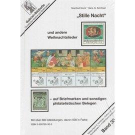 Schönen Kerstliederen op postzegels
