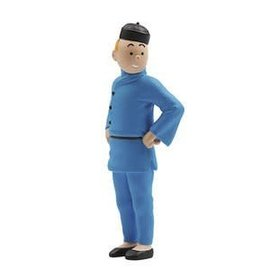 moulinsart Tintin figurine - Tintin in Chinese outfit 8 cm
