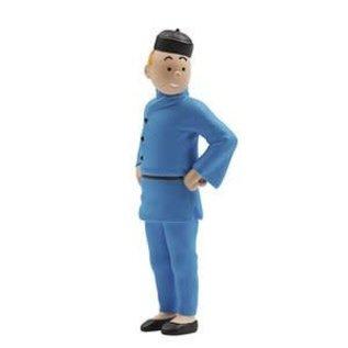 moulinsart Tim-Figur chinesische Outfit 8 cm hoch