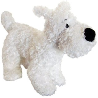 moulinsart Bobbie plush toy 8 cm high