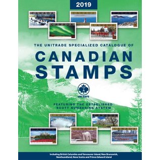 Unitrade The Unitrade Specialized Catalogue of Canadian Stamps edition 2019