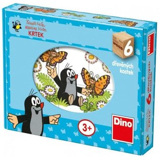Dino Molletje houten puzzel Dino 6