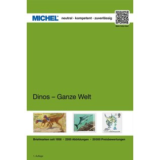 Michel Dinosaurier - Ganze Welt - Dinosaurs on Stamps