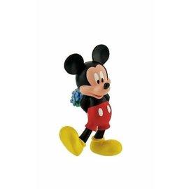Bullyland Mickey Mouse met bloemen