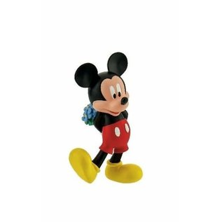 Bullyland Micky Maus mit Blumen