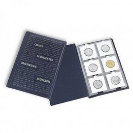 Leuchtturm Route 60 M muntenalbum zakformaat voor munthouders