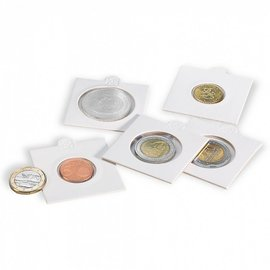 Leuchtturm Matrix coin holders self adhesive 22,5 mm - set of 100