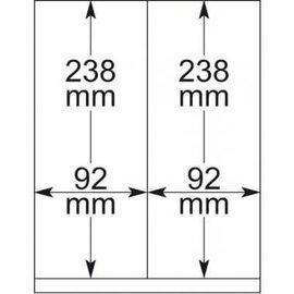 Lindner blanco bladen 802.119 - 10 stuks