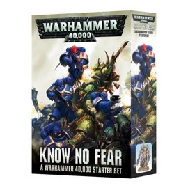 Games Workshop Know No Fear - A Warhammer 40,000 Starter Set