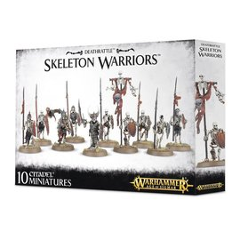 Warhammer Deathrattle Skeleton Warriors