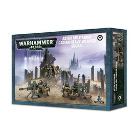 Warhammer Astra Militarium Cadian Heavy Weapon Squad